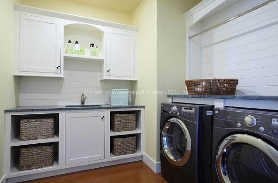 warszawa instalacja mebli do pralni