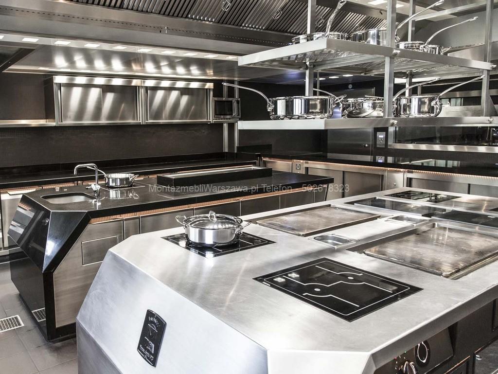 warszawa montowanie kuchni gastronomicznych