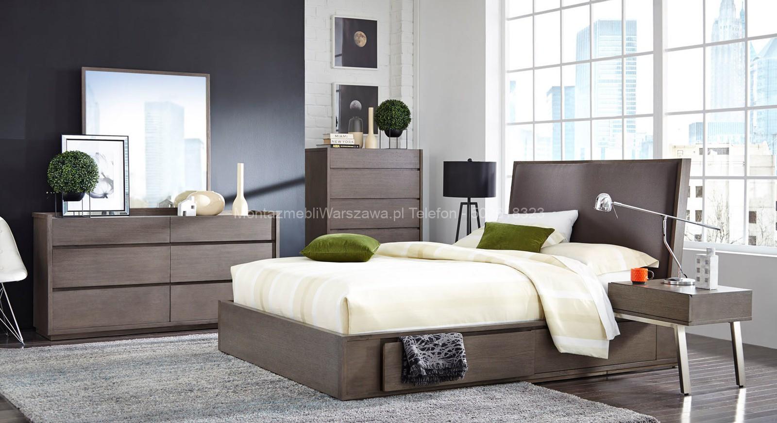 warszawa usługi montażowe mebli do sypialni