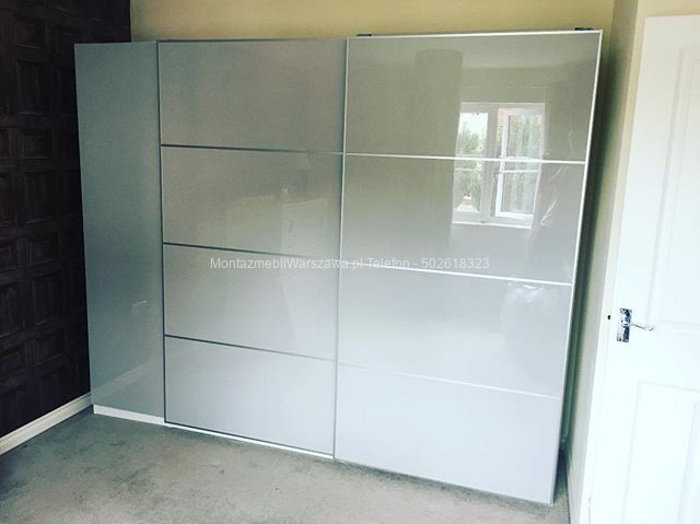 warszawa montaż szafy