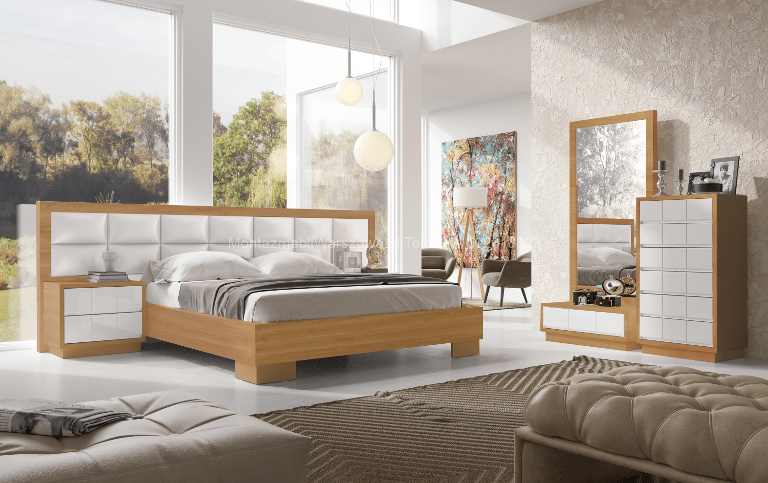 warszawa montaż łóż