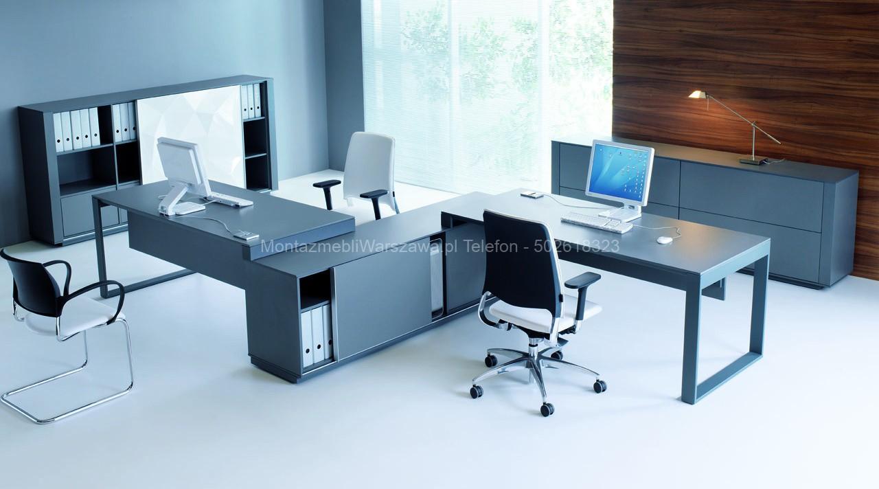 warszawa instalacja mebli dla biur