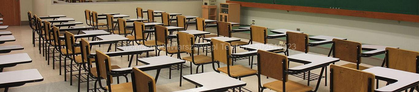 warszawa instalacje mebli dla szkół