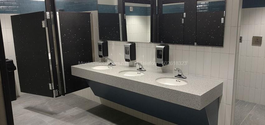 warszawa montowanie mebli dla toalety firmowej