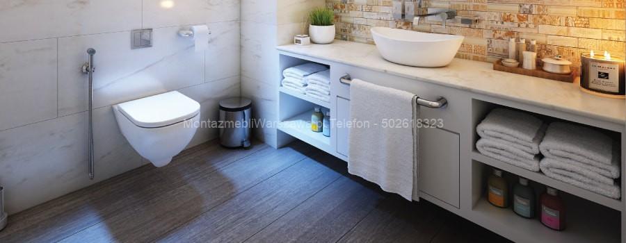Montowanie Mebli Do łazienki Toalety Ikea Warszawa I
