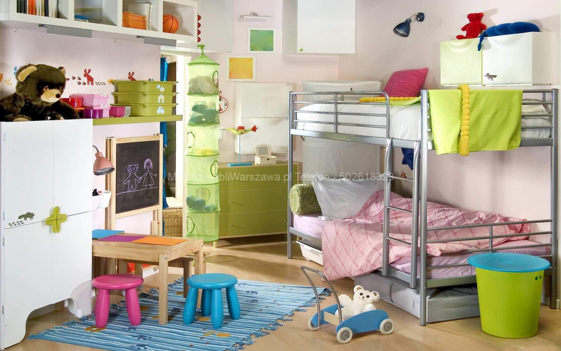 warszawa skręcanie łóżko dziecięce