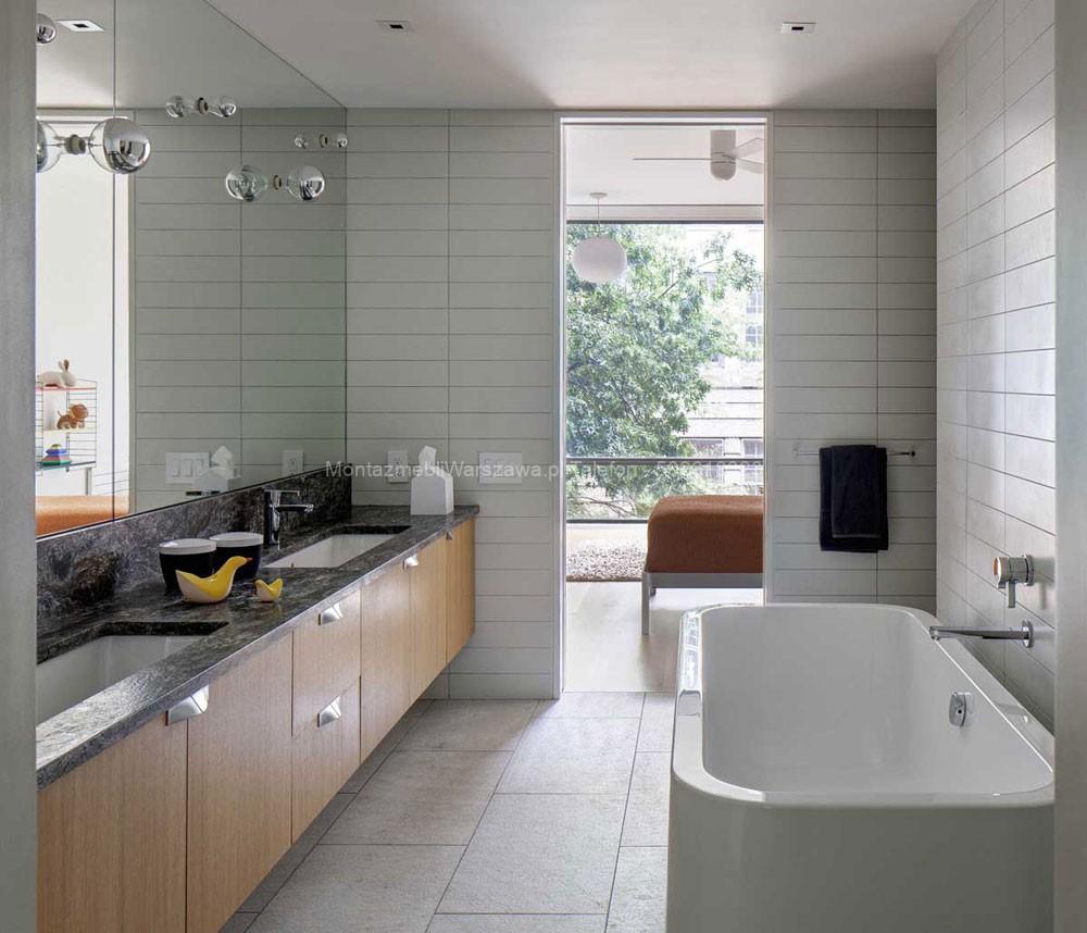 warszawa usługi montażowe mebli dla łazienki