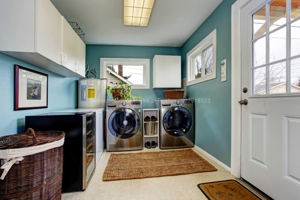 warszawa usługi montażowe mebli do pralni