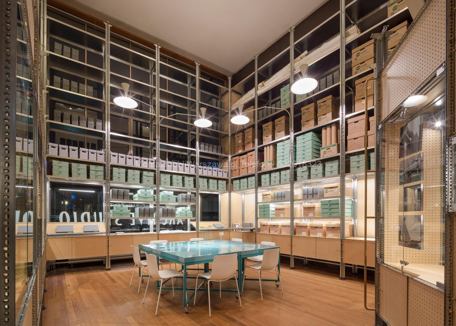 warszawa regały archiwizacyjne dla firm