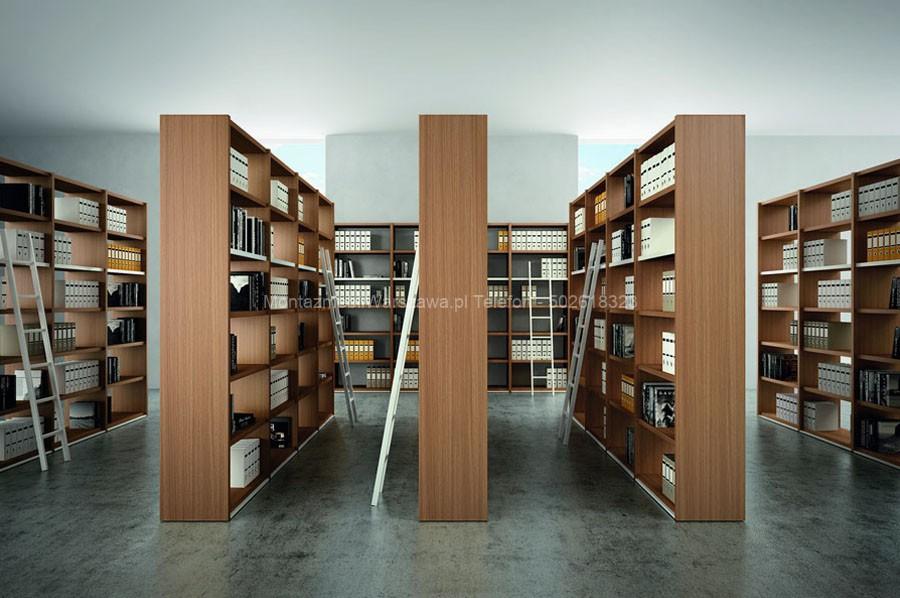 warszawa regały archiwizacyjne do biura