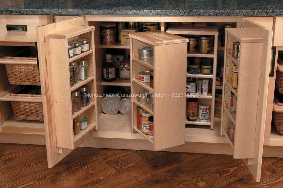 warszawa składanie i montaż szafek kuchennych