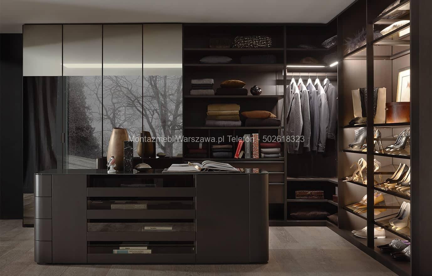 Składanie I Montaż Garderoby Szafy Na Wymiar Do Domu Biura