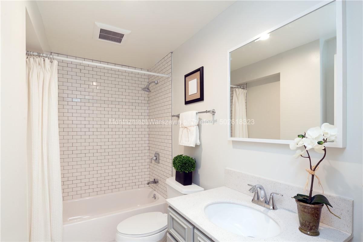 warszawa montaż mebli do łazienki