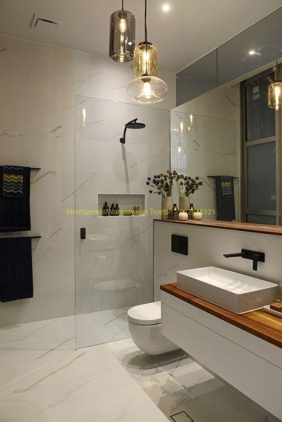 montaż oświetlenia łazienka
